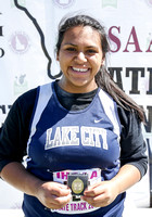 5A Girls Shot Put Champion Emily Hernandez Lake City