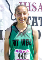 5A Girls Long Jump Champion Tori Sloan Mt View
