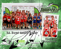 3A Boys 4x400 Relay Kimberly