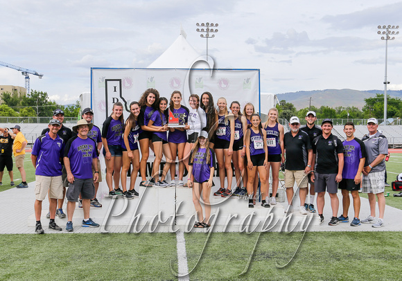 5A Girls 2nd Place Rocky Mountain 4