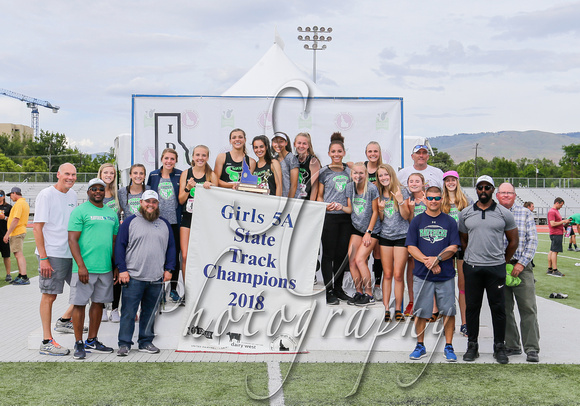 5A Girls State Champions Mountain View 3
