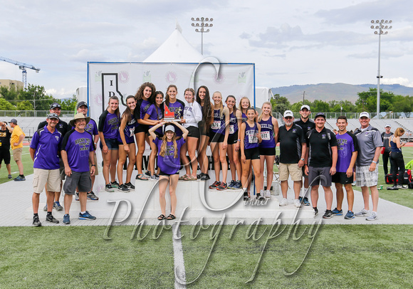 5A Girls 2nd Place Rocky Mountain 2