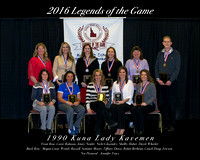 2016 Women's Legends - 1990 Kuna Lady Kavemen