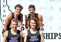 5A Boys 4x800 Relay Champions Rocky Mountain