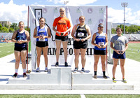 4A Girls Discus